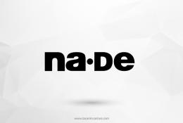 Na-de Vektörel Logosu