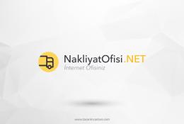 Nakliyat Ofisi Vektörel Logosu
