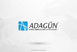 Adagün Etiket Vektörel Logosu