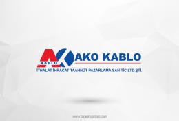 Ako Kablo Vektörel Logosu