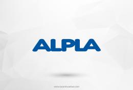 Alpla Plastik Vektörel Logosu