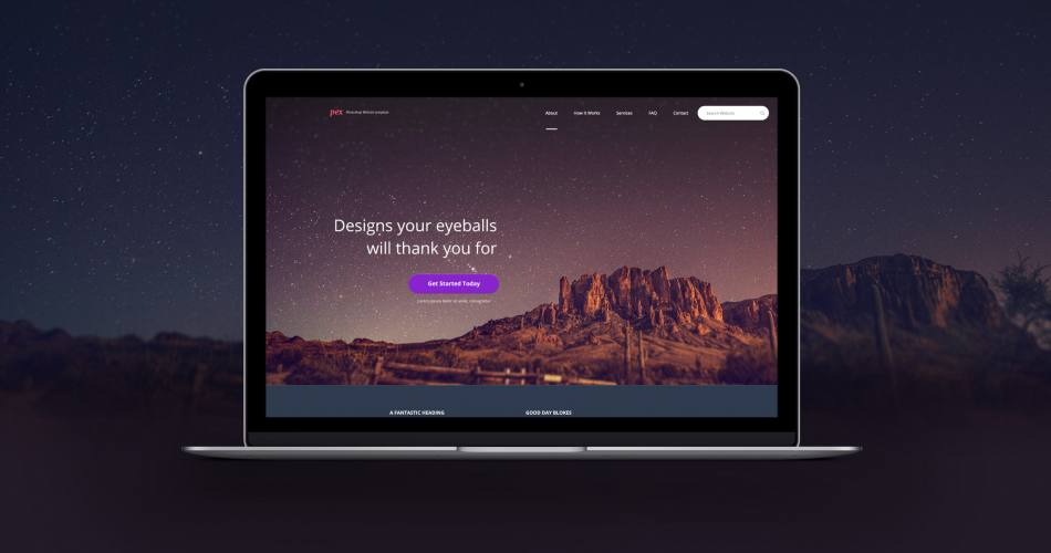 Pex Website Template