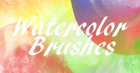 24 Watercolor Brushes