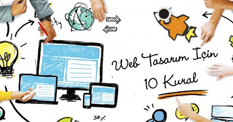 Web Tasarım İçin 10 Kural