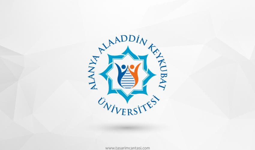 Alanya Alaaddin Keykubat Üniversitesi Vektörel Logosu