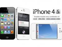 İphone 4s Mockup Vol 2