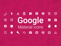 Google'dan Ücretsiz Dev İkon Seti
