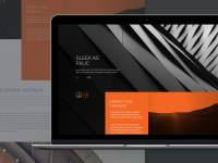 Trans Modern Website Template