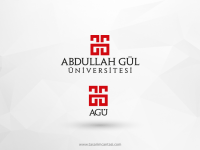 Abdullah Gül Üniversitesi Vektörel Logo