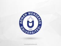Adnan Menderes Üniversitesi Vektörel Logo