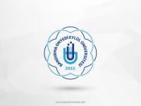Bandırma Onyedi Eylül Üniversitesi Vektörel Logosu