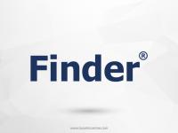Finder Yangın Güvenlik Elektronik Sistemler Vektörel Logosu