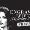 Engraved Illustration Effect Action
