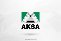 Aksa Akrilik Vektörel Logosu