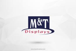 M&T Displays Vektörel Logosu