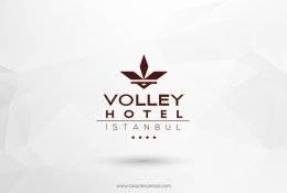 Volley Hotel İstanbul Vektörel Logosu