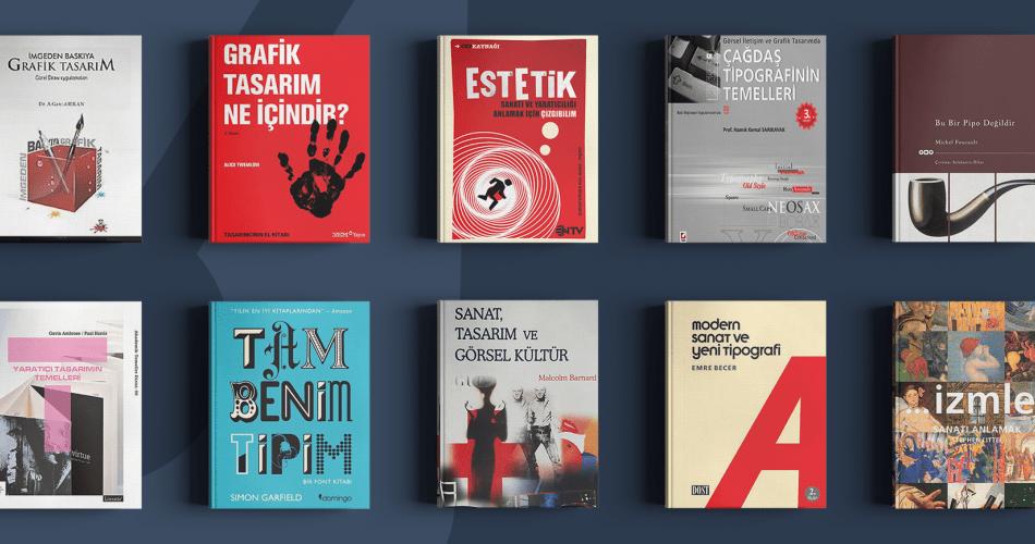 Grafik Tasarımcıların Okuması Gereken Kitaplar Serisi