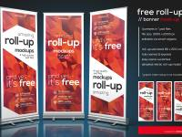 Roll-up Mokcup
