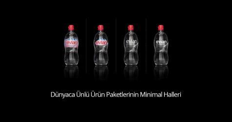 Dünyaca Ünlü Ürün Paketlerinin Minimal Halleri