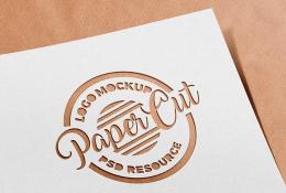 Yazı Kesim Logo Mockup