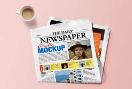 Gazete Mockup