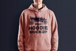 Kapüşonlu Sweatshirt Mokcup