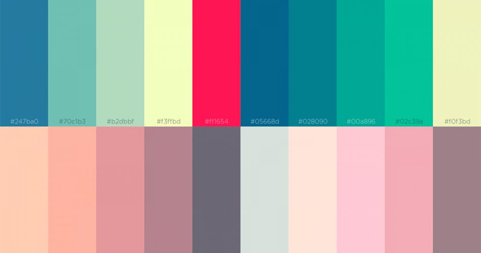 Bir Sonraki Projeniz İçin 15 Yeni Renk Paleti